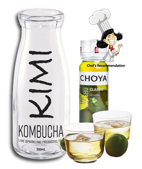 Kimikombucha choya cocktail