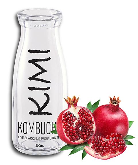 Kimikombucha pomegranate