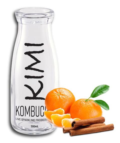 Kimikombucha CLASSIC Tangerine-Cinnamon