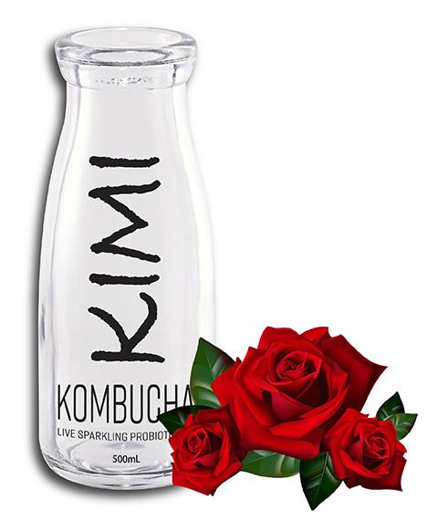 Kimikombucha CLASSIC Rose