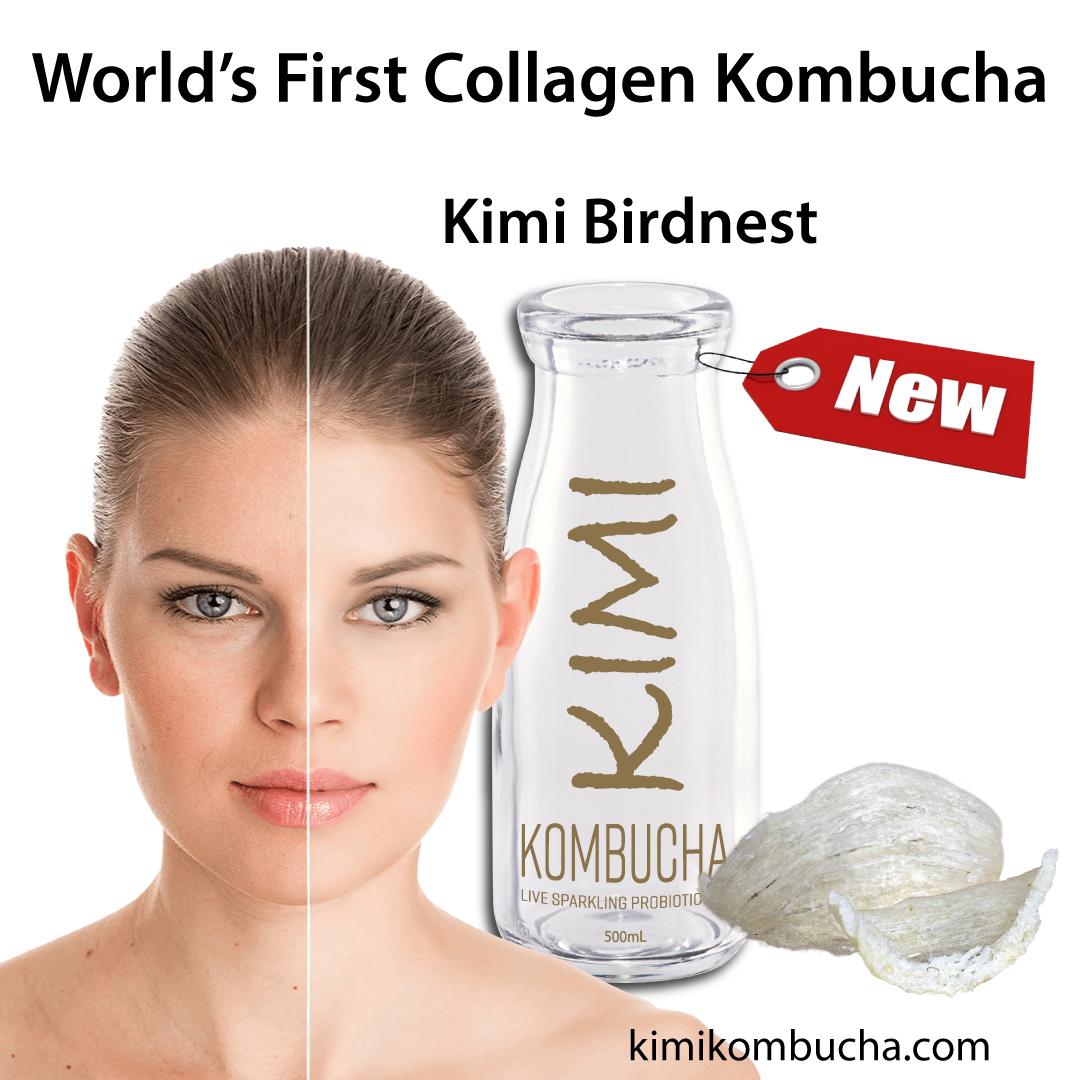 World's First Collagen Kombucha