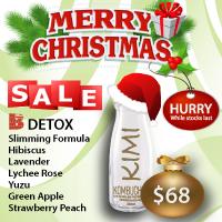 Christmas Kombucha Set B - Detox