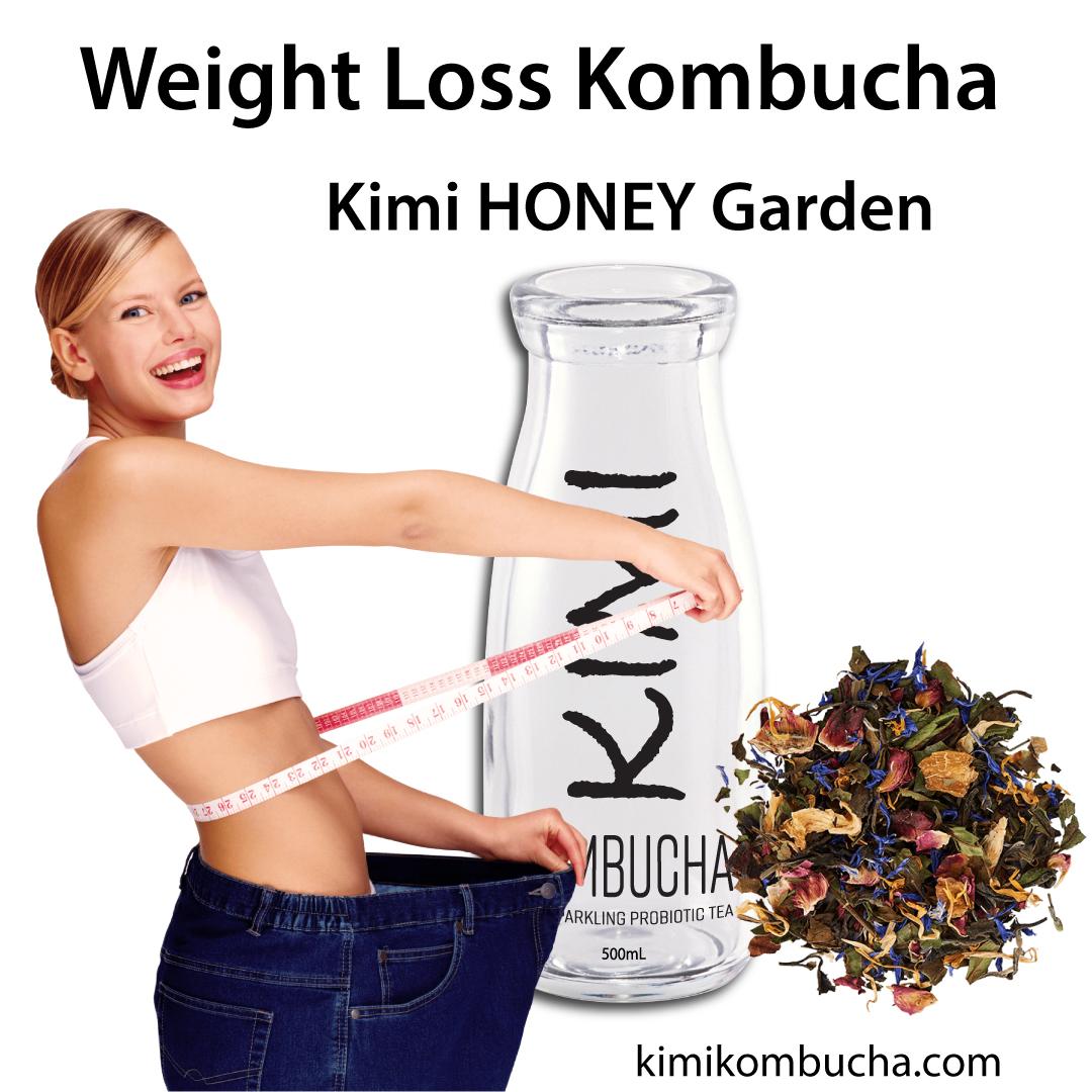 Kimi Honey Garden is a weight loss Kombucha