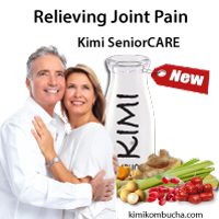 Kimi SeniorCARE Kombucha relieving joint pain