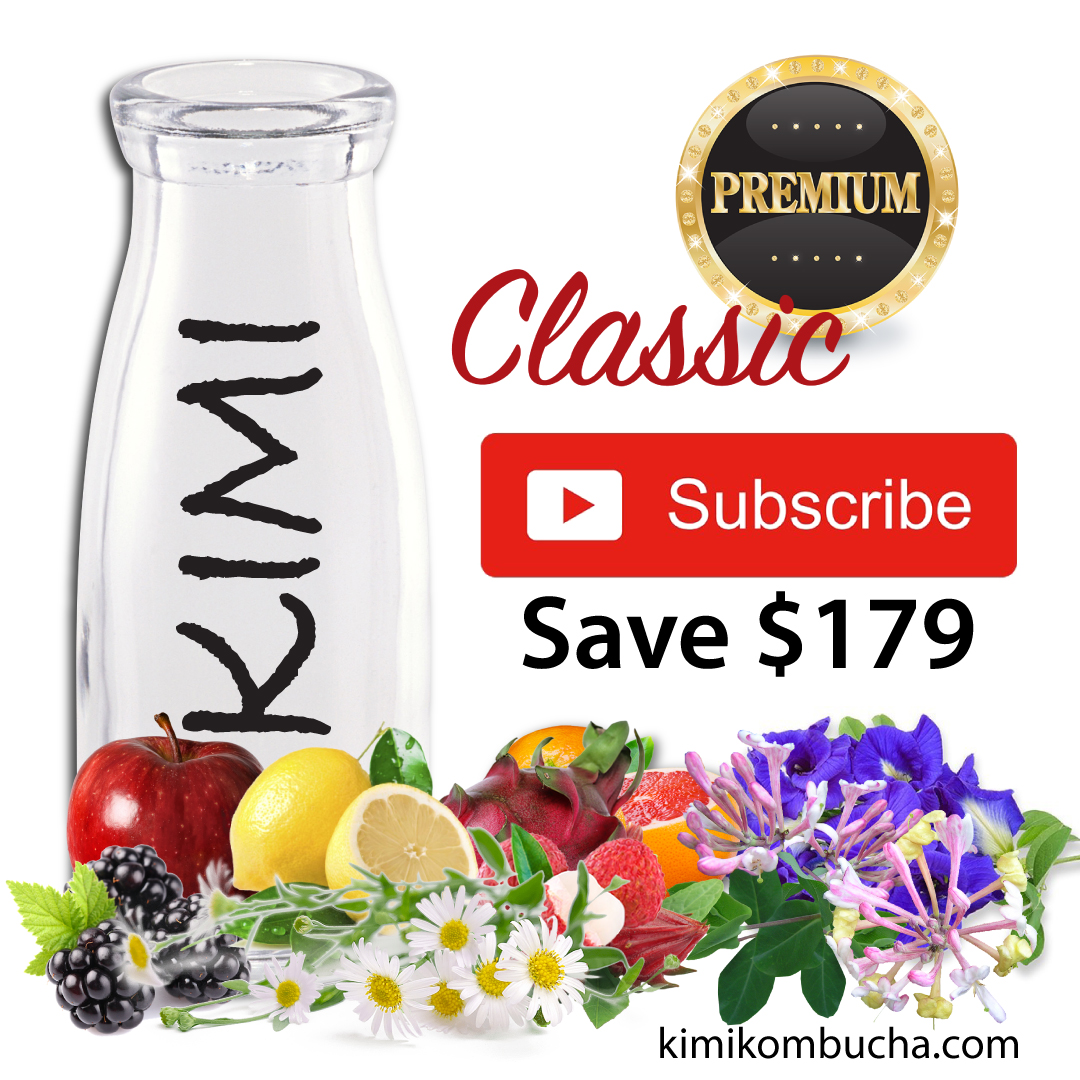 Kimi All Mixed subscription Kombucha