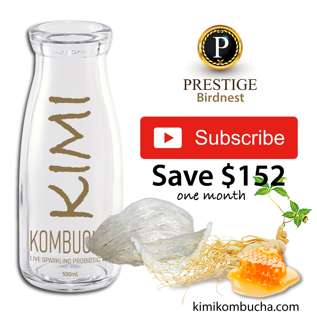 Kimi Prestige Birdnest 1 month subscription Kombucha