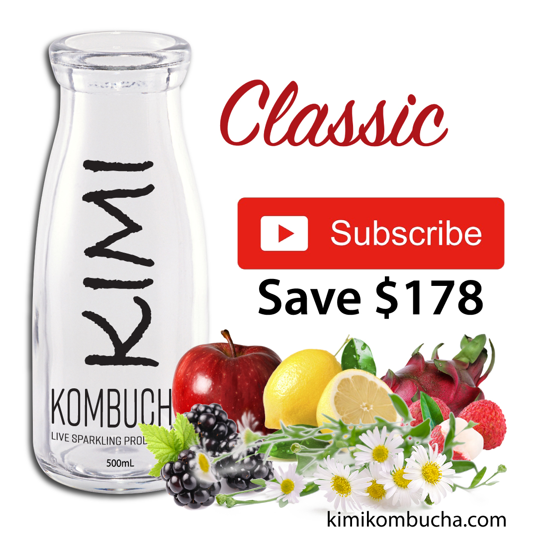 Kimi All Classic subscription Kombucha