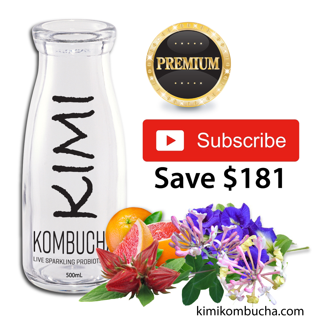 Kimi All Premium subscription Kombucha