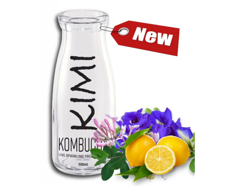 Kimi PREMIUM Honeysuckle-Pea Lemonade (Caffeine-Free) 1,000ml